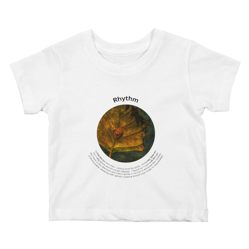 Rhythm Kids Baby T-Shirt by Hogwash's Artist Shop
