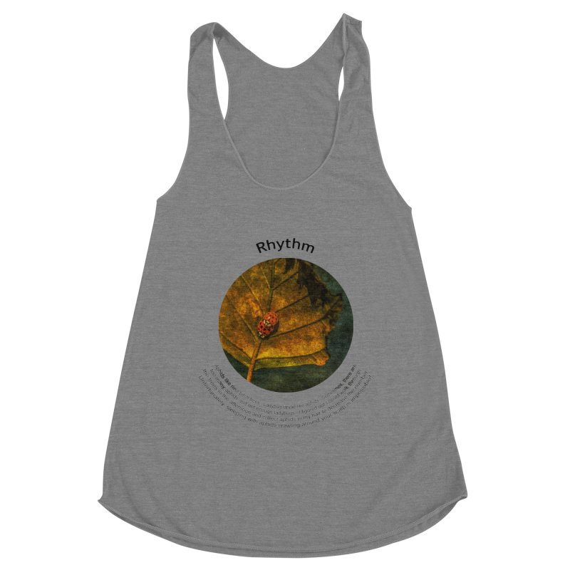 Rhythm Women's Tank by Hogwash's Artist Shop