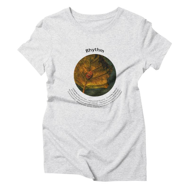 Rhythm Women's T-Shirt by Hogwash's Artist Shop