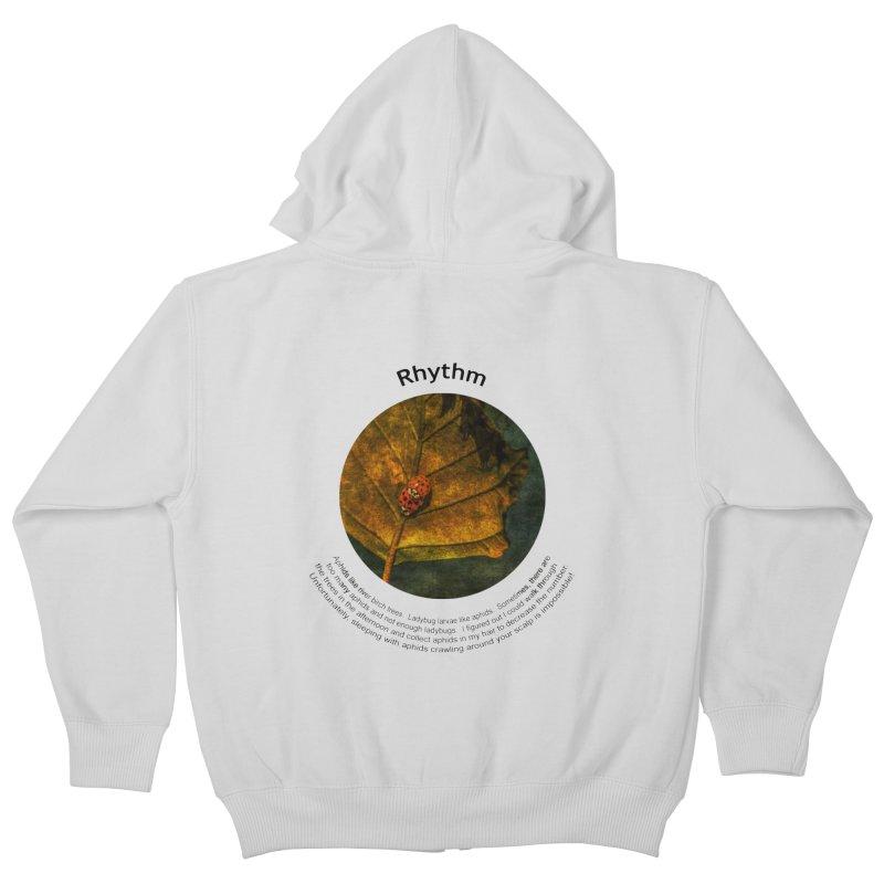 Rhythm Kids Zip-Up Hoody by Hogwash's Artist Shop