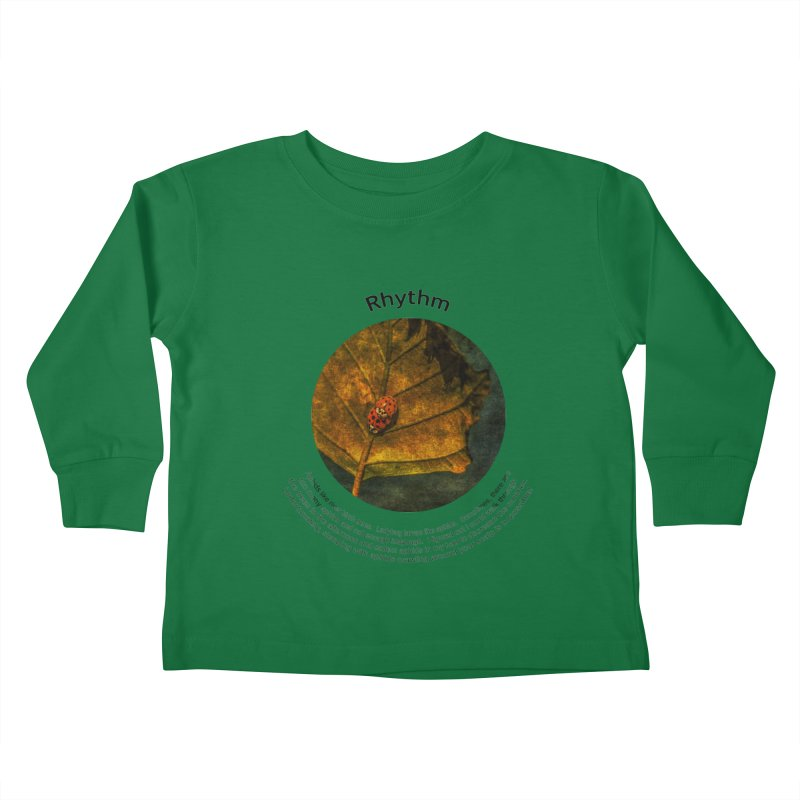 Rhythm Kids Toddler Longsleeve T-Shirt by Hogwash's Artist Shop
