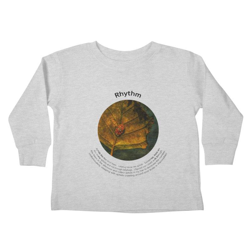 Rhythm Kids Toddler Longsleeve T-Shirt by Hogwash's Artist Shop