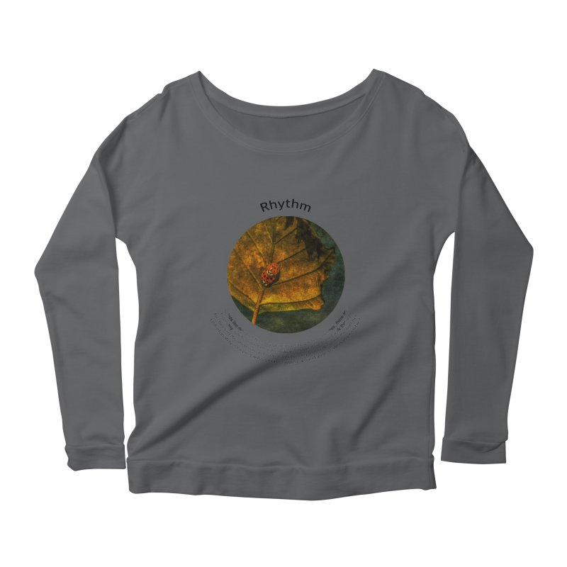 Rhythm Women's Longsleeve Scoopneck  by Hogwash's Artist Shop