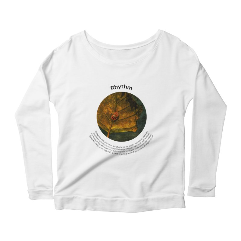 Rhythm Women's Scoop Neck Longsleeve T-Shirt by Hogwash's Artist Shop