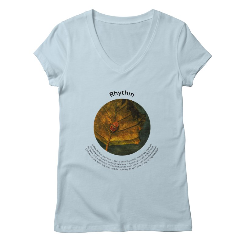 Rhythm Women's Regular V-Neck by Hogwash's Artist Shop