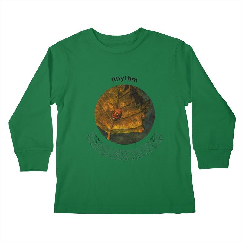 Rhythm Kids Longsleeve T-Shirt by Hogwash's Artist Shop
