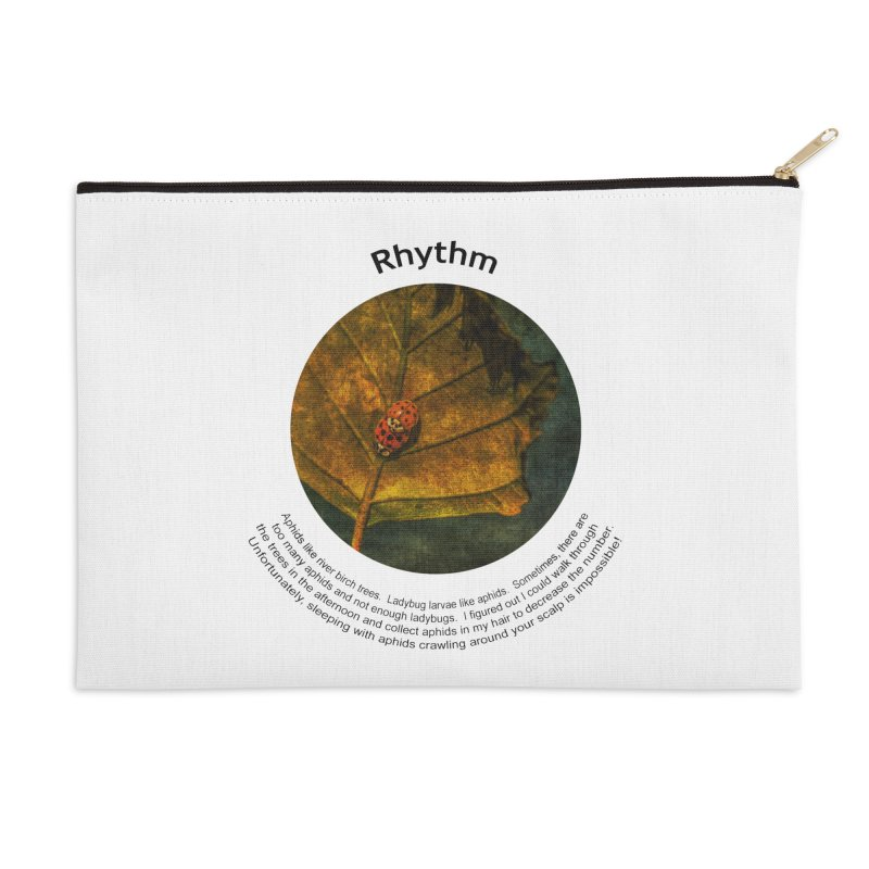 Rhythm Accessories Zip Pouch by Hogwash's Artist Shop