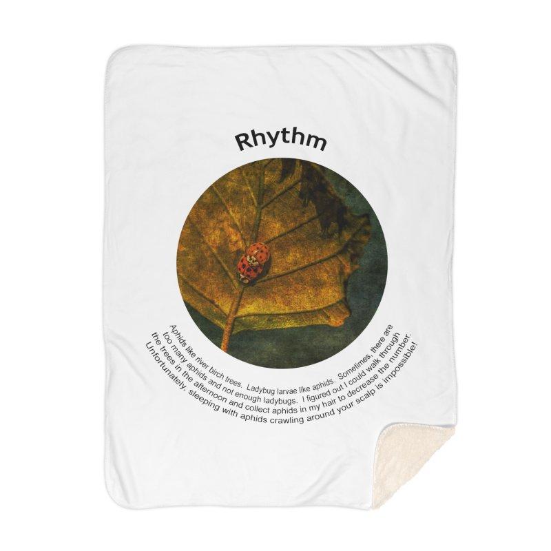 Rhythm Home Blanket by Hogwash's Artist Shop