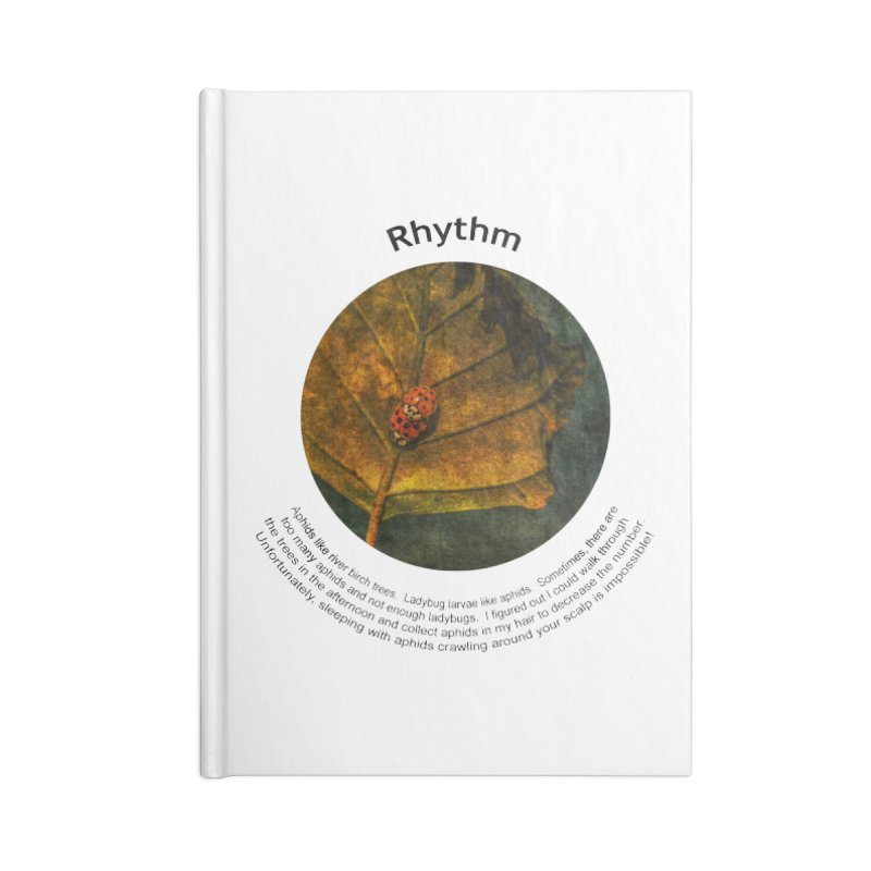 Rhythm Accessories Notebook by Hogwash's Artist Shop