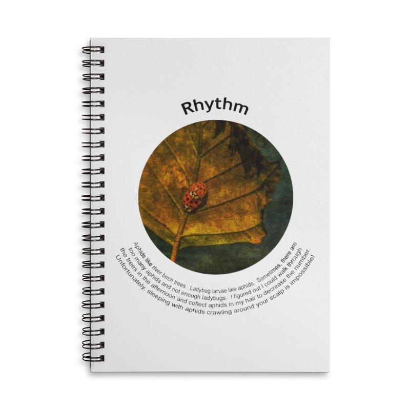 Rhythm Accessories Lined Spiral Notebook by Hogwash's Artist Shop