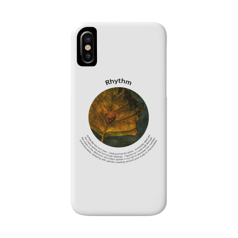 Rhythm Accessories Phone Case by Hogwash's Artist Shop