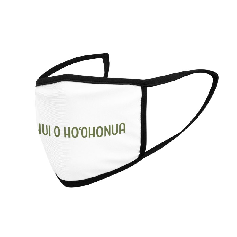 HOH808 Logo Gear Accessories Face Mask by Hui o Ho`ohonua