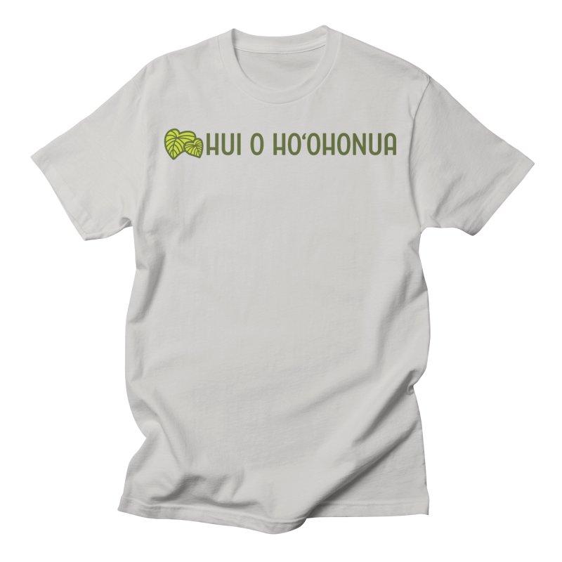 HOH808 Logo Gear Men's T-Shirt by Hui o Ho`ohonua