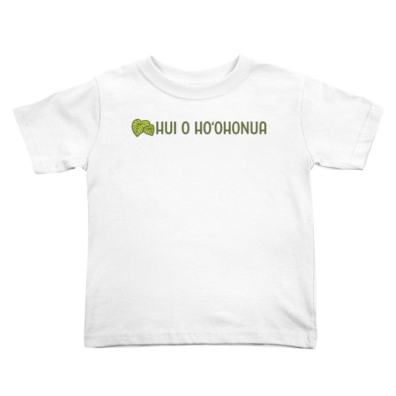 HOH808 Logo Gear Kids Toddler T-Shirt by Hui o Ho`ohonua