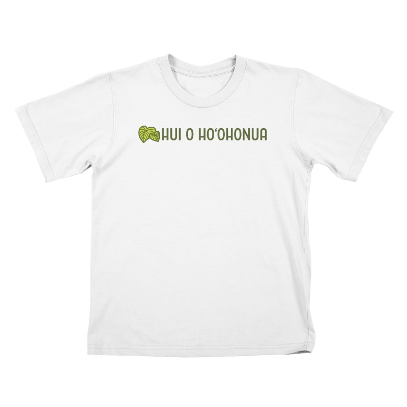 HOH808 Logo Gear Kids T-Shirt by Hui o Ho`ohonua