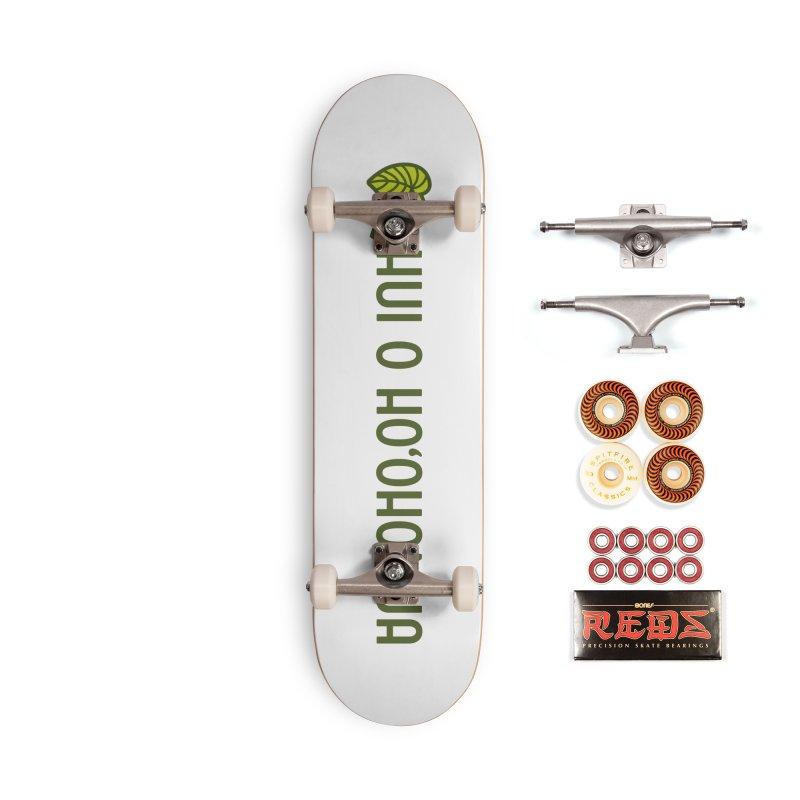 HOH808 Logo Gear Accessories Skateboard by Hui o Ho`ohonua