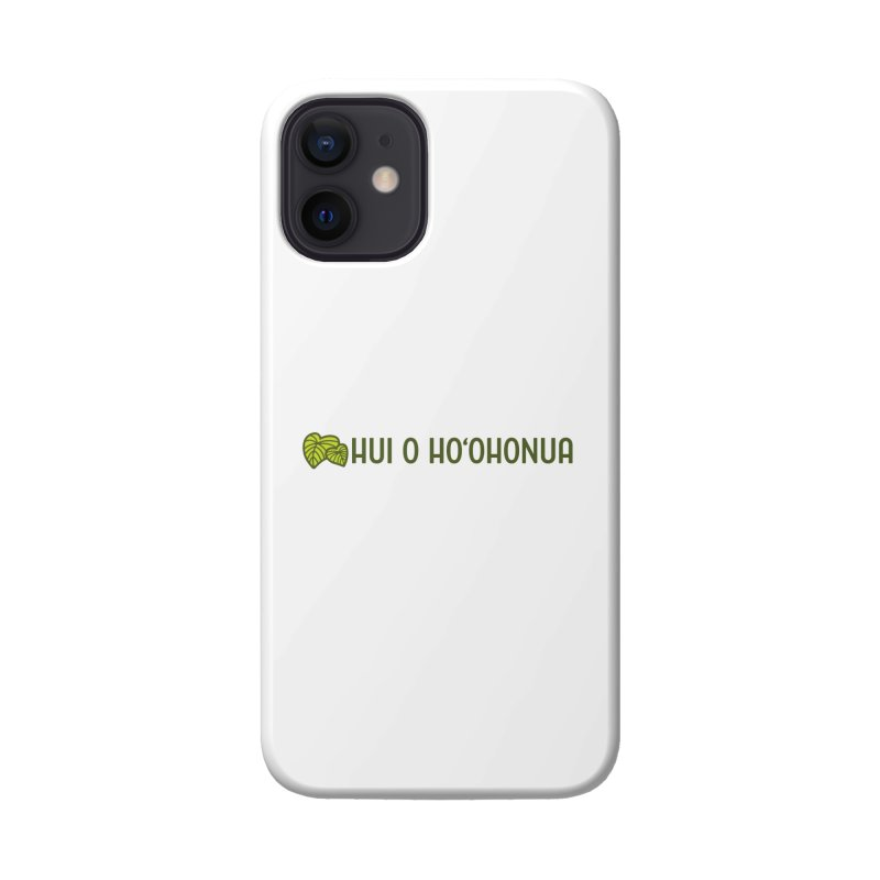HOH808 Logo Gear Accessories Phone Case by Hui o Ho`ohonua