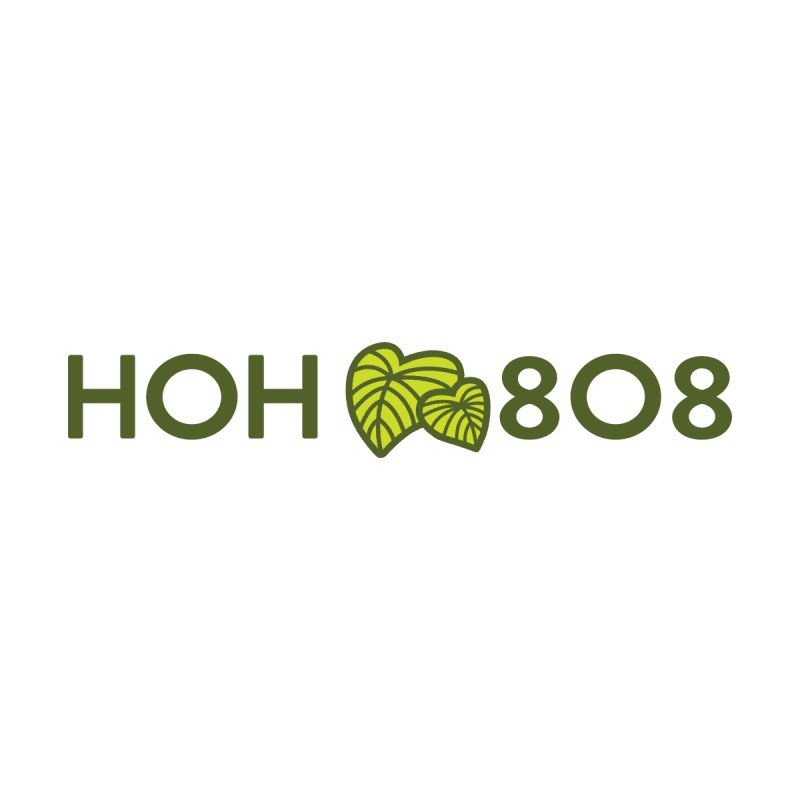 HOH808 Logo Gear Accessories Sticker by Hui o Ho`ohonua