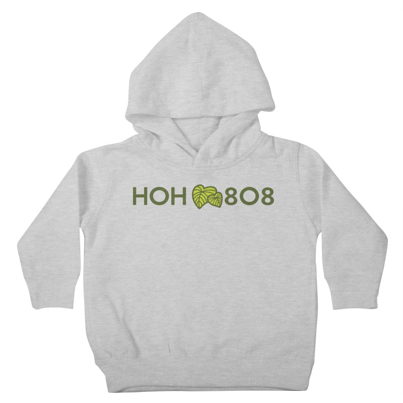 HOH808 Logo Gear Kids Toddler Pullover Hoody by Hui o Ho`ohonua