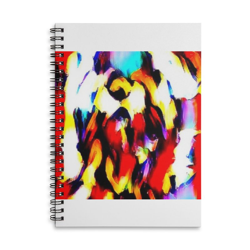 Lop Rabbit Accessories Lined Spiral Notebook by hollandlopartwork's Artist Shop