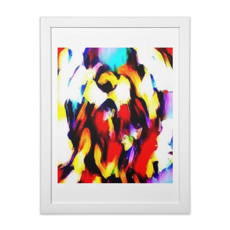 Lop Rabbit Home Framed Fine Art Print by hollandlopartwork's Artist Shop