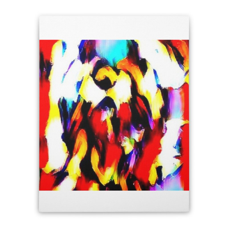 Lop Rabbit Home Stretched Canvas by hollandlopartwork's Artist Shop