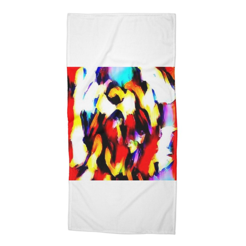 Lop Rabbit Accessories Beach Towel by hollandlopartwork's Artist Shop