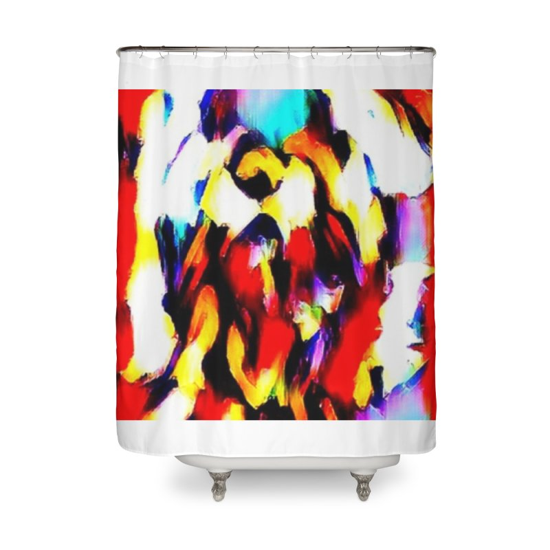 Lop Rabbit Home Shower Curtain by hollandlopartwork's Artist Shop