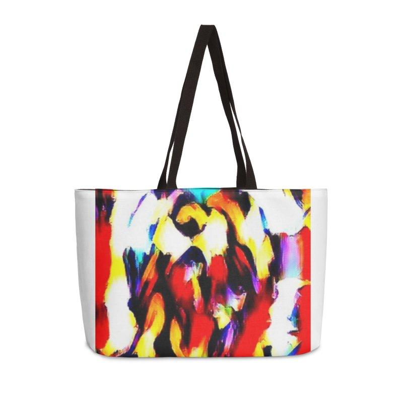 Lop Rabbit Accessories Weekender Bag Bag by hollandlopartwork's Artist Shop