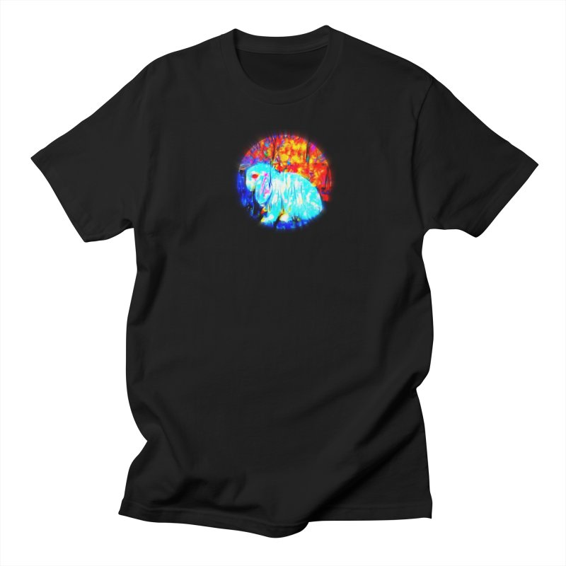 Rabbit Focus Men's T-Shirt by hollandlopartwork's Artist Shop