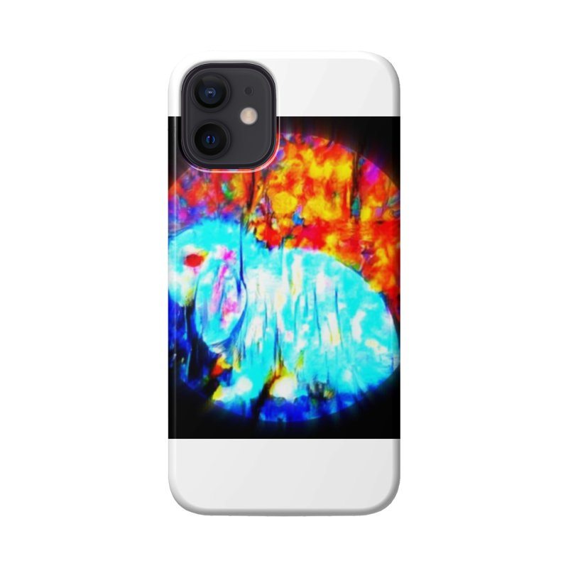 Rabbit Focus Accessories Phone Case by hollandlopartwork's Artist Shop