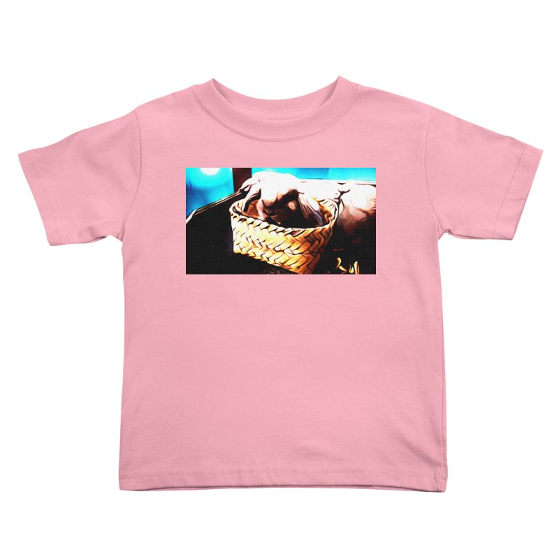 Lukisan Kelinci Holland Lop Sheno dan Rizky Kids Toddler T-Shirt by hollandlopartwork's Artist Shop