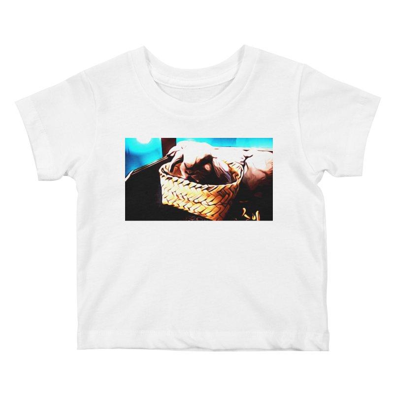 Lukisan Kelinci Holland Lop Sheno dan Rizky Kids Baby T-Shirt by hollandlopartwork's Artist Shop