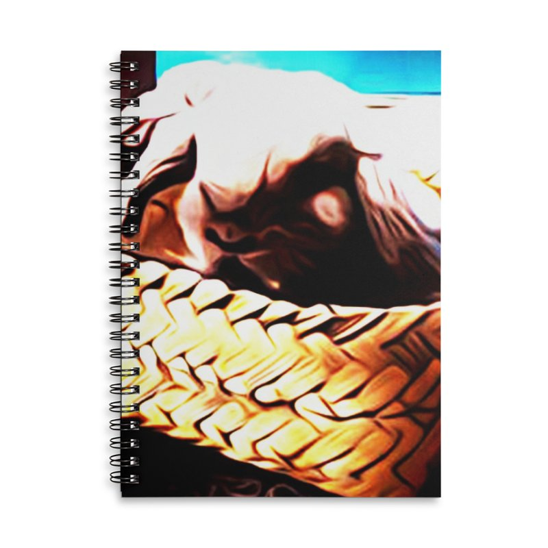 Lukisan Kelinci Holland Lop Sheno dan Rizky Accessories Lined Spiral Notebook by hollandlopartwork's Artist Shop