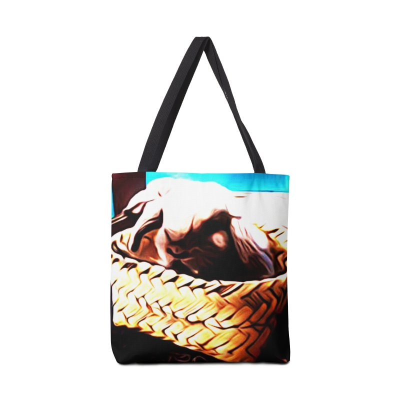 Lukisan Kelinci Holland Lop Sheno dan Rizky Accessories Tote Bag Bag by hollandlopartwork's Artist Shop