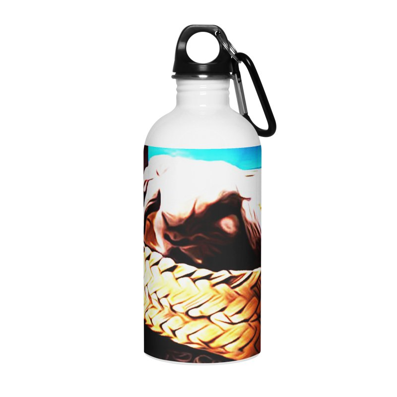 Lukisan Kelinci Holland Lop Sheno dan Rizky Accessories Water Bottle by hollandlopartwork's Artist Shop