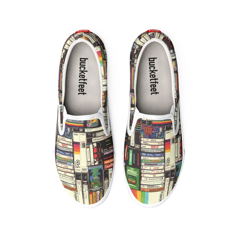 cassettes_vhs_games Women's Shoes by Hollis Brown Thornton