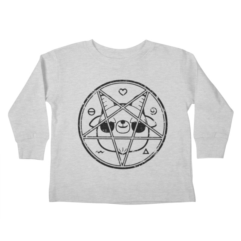 Kri Kri Jr. Kids Toddler Longsleeve T-Shirt by Paul Shih