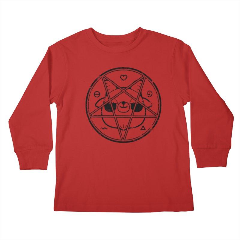 Kri Kri Jr. Kids Longsleeve T-Shirt by Paul Shih