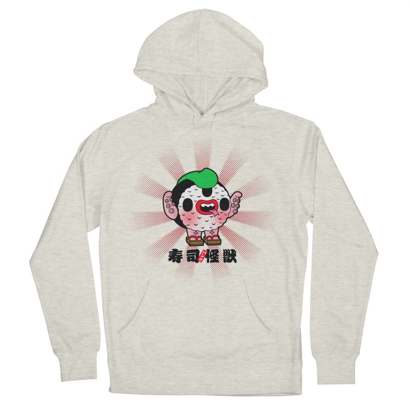 Sushi Kaiju Men's Pullover Hoody by Paul Shih