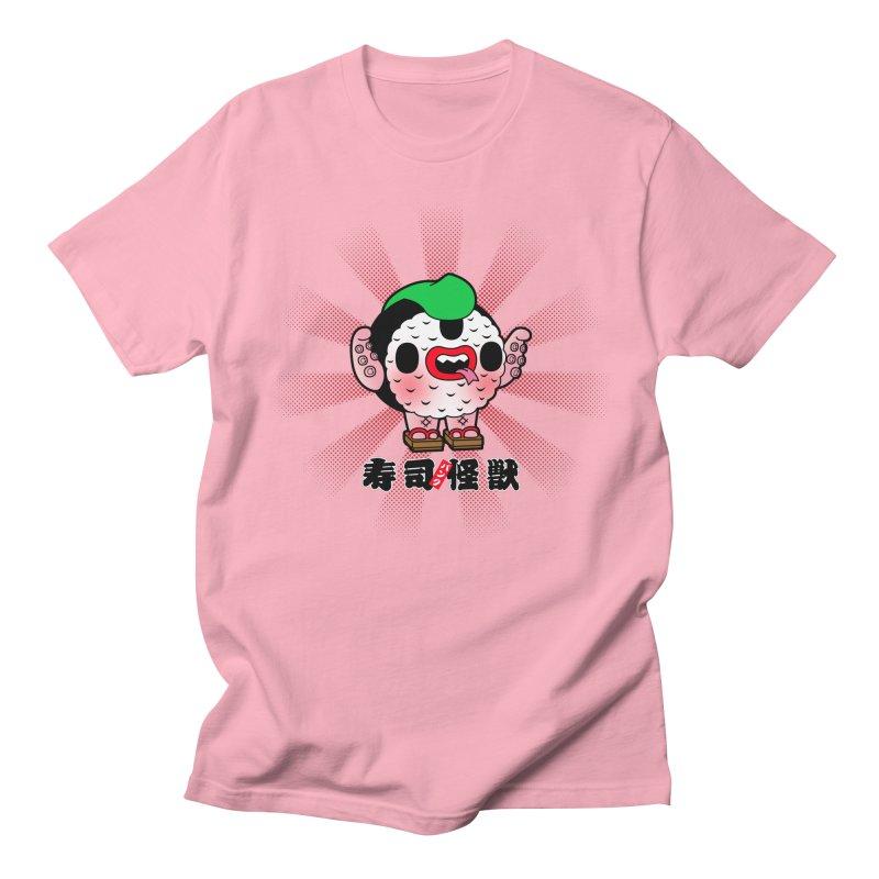 Sushi Kaiju Men's T-shirt by Paul Shih