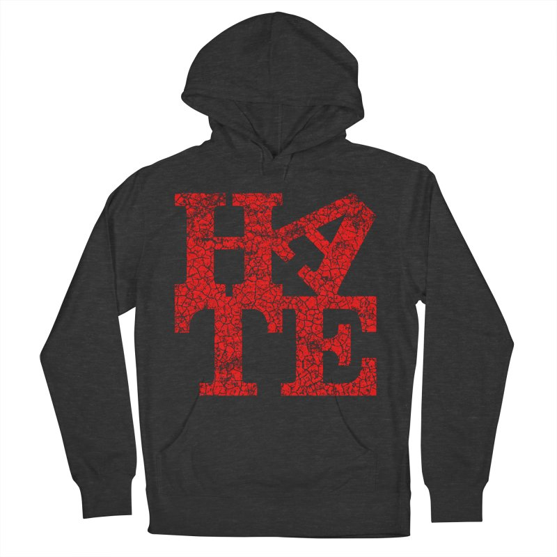 HATE Men's Pullover Hoody by Paul Shih