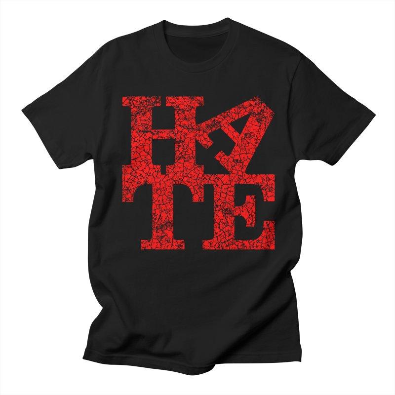 HATE Men's T-Shirt by Paul Shih