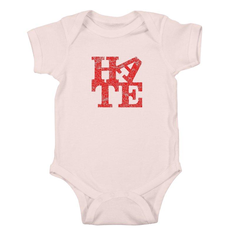 HATE Kids Baby Bodysuit by Paul Shih