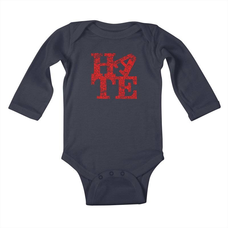 HATE Kids Baby Longsleeve Bodysuit by Paul Shih