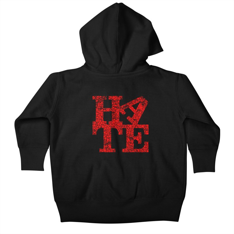 HATE Kids Baby Zip-Up Hoody by Paul Shih