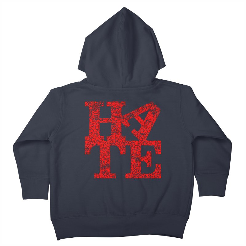 HATE Kids Toddler Zip-Up Hoody by Paul Shih