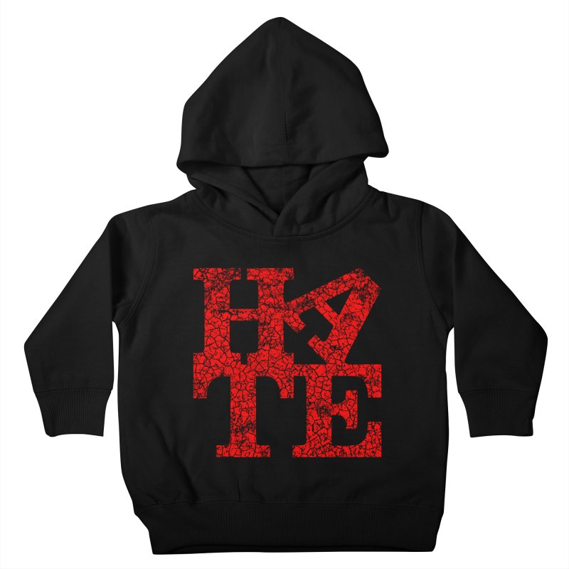 HATE Kids Toddler Pullover Hoody by Paul Shih
