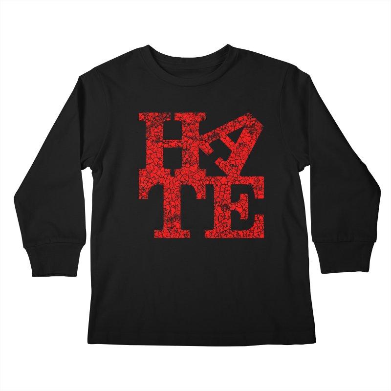 HATE Kids Longsleeve T-Shirt by Paul Shih