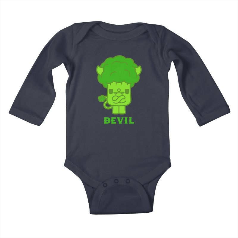 BEVIL Kids Baby Longsleeve Bodysuit by Paul Shih